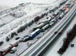 Более 50 машин столкнулись вАвстрии, 15 человек ранены