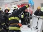 Пожарные вКрасногвардейском районе сражаются сразбушевавшимся пламенем