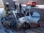 ВИсаклинском районе двое погибли при столкновении легковушки ифуры