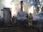 ВТверской области пожар унес жизни матери идвух еедетей