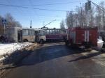 Стали известны подробности ДТП сучастием трамвая иавтобуса вНижнем Новгороде