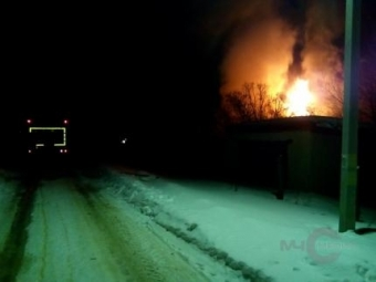 78-летняя женщина погибла напожаре вИнзе