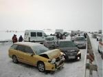 Под Калугой натрассе М-3 массовое ДТП с19 транспортными средствами