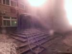Втаймырской Хатанге горела школа-интернат