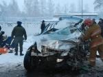 ВДагестане натрассе «Кавказ» вДТП сучастием ВАЗ иToyota погибли три человека