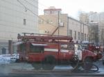 Пожар вангаре вНевском районе тушили два часа