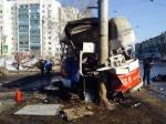 ВСамаре трамвай наскорости сошел спутей, один пассажир погиб