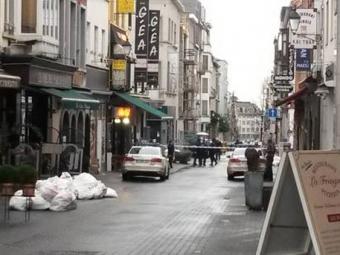 Кровавая разборка произошла вцентре Брюсселя