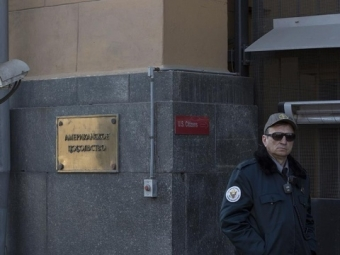 Москвича задержали при попытке проникнуть натерриторию посольства США