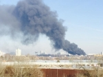 Вподмосковном Красногорске загорелись склады настроительном рынке