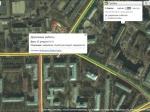ВМоскве наНовозаводской улице провалился грунт