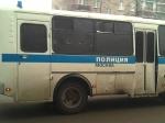 ВМоскве водитель Cadillac столкнулся савтобусом искрылся