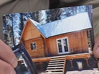 ВСША украли жилой дом