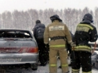Жертвами ДТП вКемеровской области стали пять человек