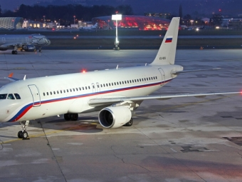 Airbus A320 совершил экстренную посадку ваэропорту Казани из-за угрозы здоровью пассажирки