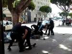 ВСША полицейские застрелили бездомного