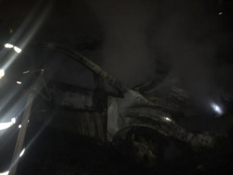 Сразу две иномарки сгорели вИркутске ночью 4марта