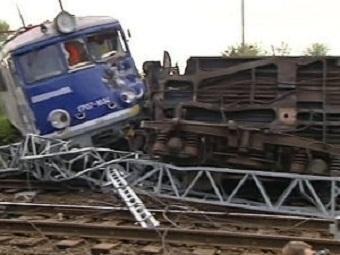 В Польше сошел с рельсов поезд