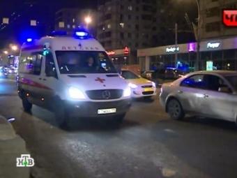 Сотрудники ДПС, ехавшие навызов вМоскве, сбили нетрезвого мужчину