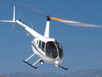 Под Новосибирском разбился частный вертолет