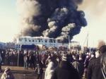 Намебельной фабрике вСаратовской области произошел пожар