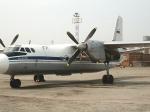 ВНовосибирске Ан-24 повредил хвост вовремя посадки
