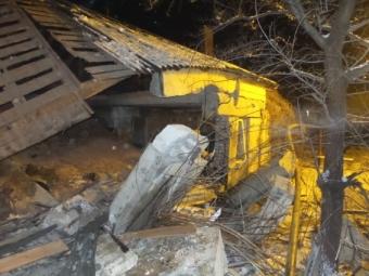 Взрыв бытового газа произошёл вПятигорске
