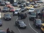 МВД: Вцентре Киева расстреляли автомобиль, ранен водитель