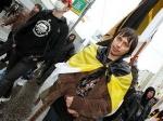 В Москве прошло незаконное шествие националистов