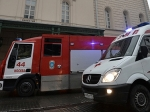 ВМоскве произошел пожар натерритории торгового центра