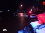Пьяный инспектор ДПС зарулем врезался вфонарный столб вМоскве