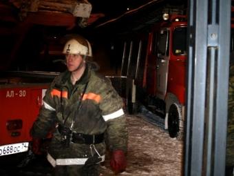 ВЧелябинске горит исправительная колония №8— МОЛНИЯ