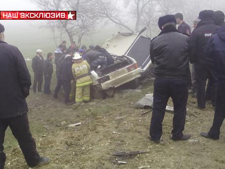 Семеро погибли, еще 11 пострадали вДТП вДагестане