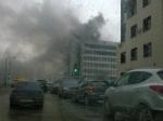 Пожар рядом сМосковским рынком потушен