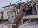 ВДонецке вжилой дом угодил снаряд