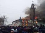 ВДагестане горит мечеть