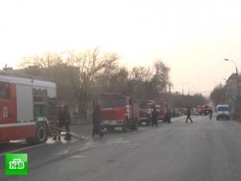 Два человека погибли при пожаре вмосковской пятиэтажке