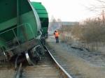 Два вагона сошли срельсов вЯрославской области