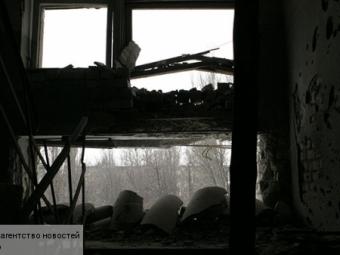 ВДонецке снаряд попал вдом— Минобороны ДНР
