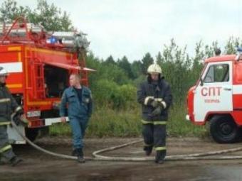 ВКазани загорелся автобус 22-го маршрута
