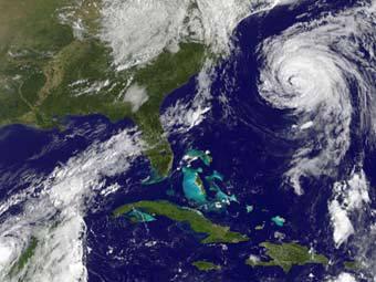 Ураган «Катя» терзает Европу