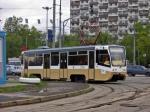 Трамвай сошел срельсов наюге Москвы из-за подложенной плиты