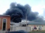 ВПетербурге горел склад наМитрофаньевском шоссе