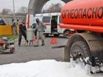 НаСеровской ГРЭС горит трансформатор