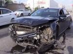 Автомобиль председателяСК РФпопал ваварию наСадовом кольце