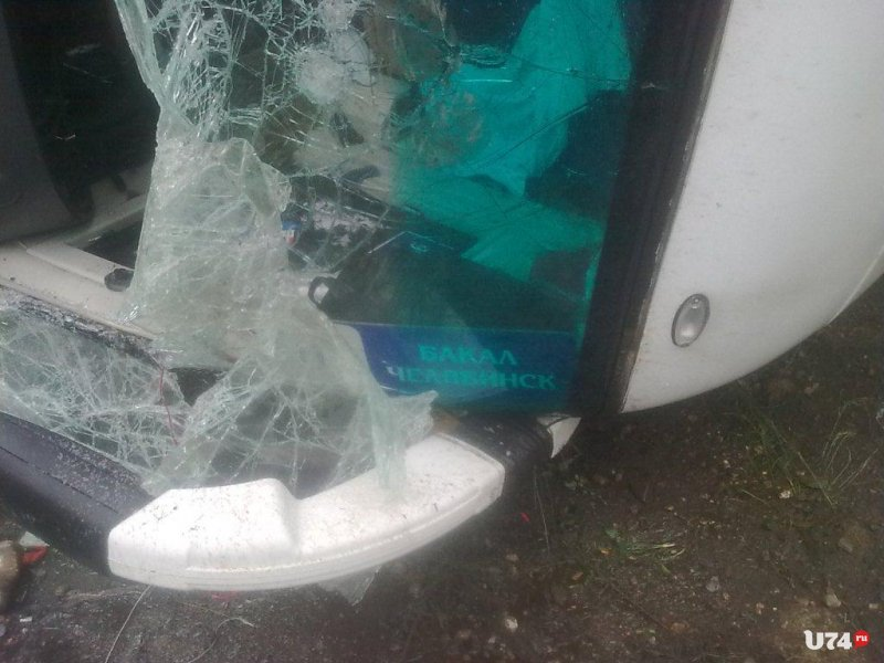 Натрассе «М-5 п»опал вДТ П рейсовый автобус Бакал-Челябинск: 8 пострадавших