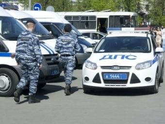 Пожар охватил здание полка ДПС вУфе