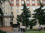 В Москве на роддом упал строительный кран