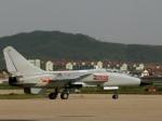 На авиашоу в Китае разбился истребитель