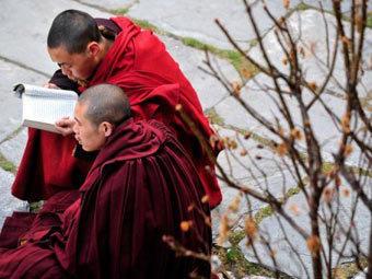 В Китае бывший тибетский монах поджег себя